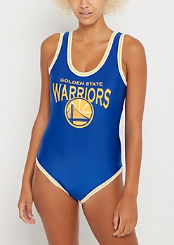 Golden State Warriors Athletic Striped Bodysuit