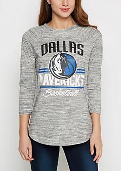 Dallas Mavericks Space Dye Tee