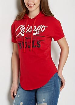 Chicago Bulls Hoodie Tee