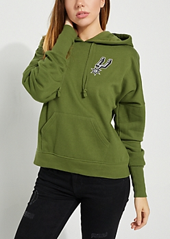San Antonio Spurs Lace Up Hoodie