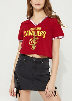 Cleveland Cavaliers Crop Mesh Jersey