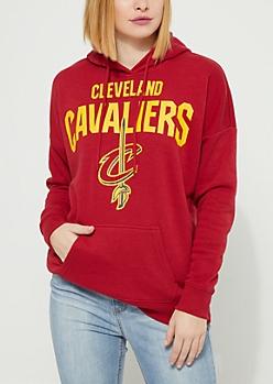Cleveland Cavaliers Drop Shoulder Fleece Hoodie