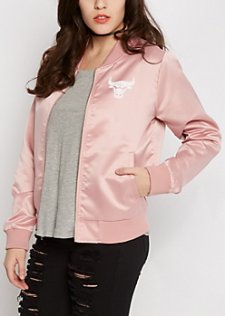 Chicago Bulls Sateen Bomber