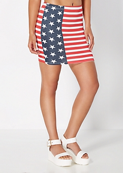 Americana Mini Skirt
