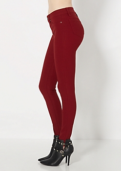 Red Better Booty Hyper Twill Pant