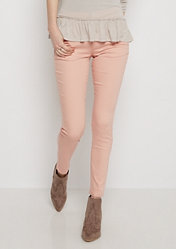 Soft Pink High Waist Jegging