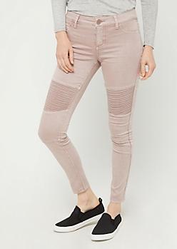 Pink Moto Skinny Pants