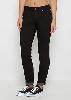 Black Flex Mid Rise Skinny Pant