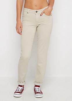 Khaki Flex Mid Rise Skinny Pant