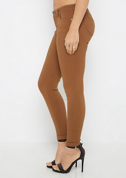 Camel Better Butt Destroyed Jegging