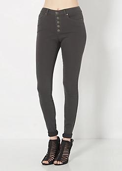 Freedom Flex Charcoal High Waist Skinny Pant