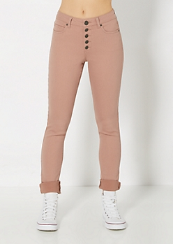 Freedom Flex Pink High Waist Skinny Pant