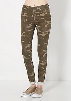 Freedom Flex Camo High Waist Skinny Pant