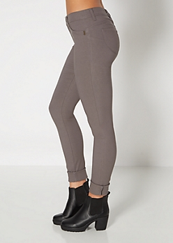 Gray Better Booty High Waist Jegging