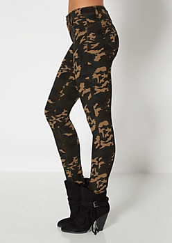 Camo Super Stretch Jegging