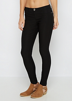 Black Better Butt Stretch Twill Jegging