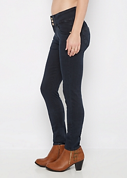 Navy Better Butt High Waist Jegging