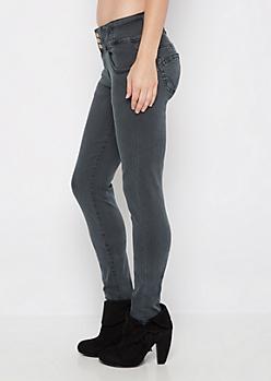 Charcoal Better Butt High Waist Jegging