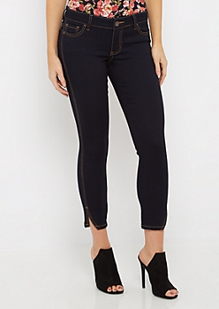 Split Ankle Cropped Jegging in Regular