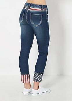 Americana Cropped Pant