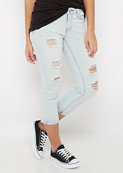 Released Hem Cropped Skinny Jean