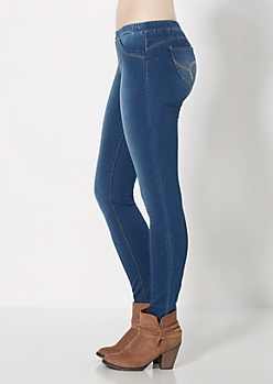 Better Booty Medium Blue Skinny Jean