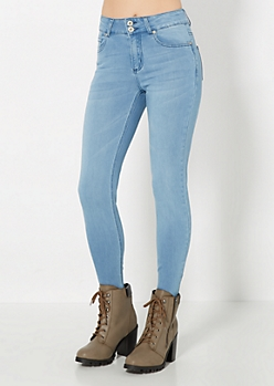 Freedom Flex Vintage High Waist Skinny Jean in Short