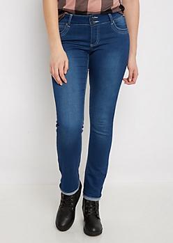 Flex Sandblasted 2-Shank Skinny Jean