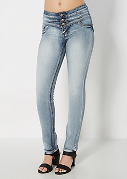 Freedom Flex 3-Shank Vintage Skinny Jean in Short