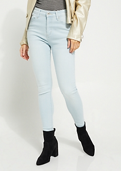Light Blue Uber High Rise Jegging