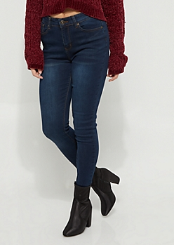 Dark Blue Uber High Rise Jeggings