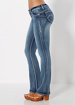 Better Booty Vintage Slim Boot Jean