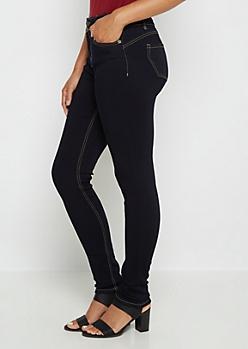 Better Butt Enhanced Flex Dark High Waist Jegging