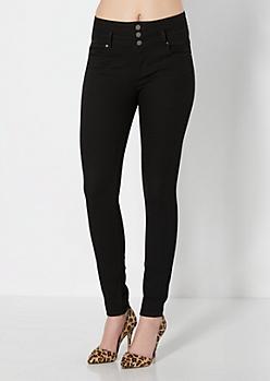 Black High Waist Skinny Jean