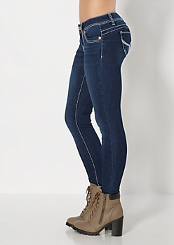 Better Booty Washed Skinny Jean
