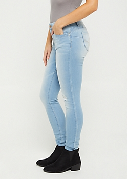 Vintage Distressed Better Butt Skinny Jean