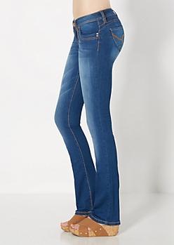 Medium Blue Better Booty Boot Jean