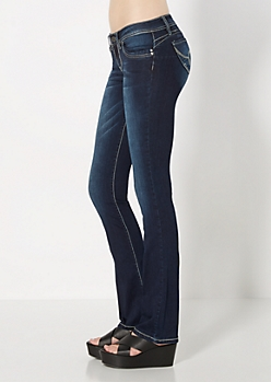 Dark Blue Better Booty Boot Jean