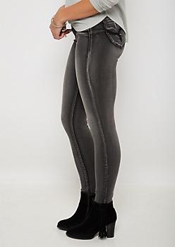 Better Butt Black Vintage Skinny Jean