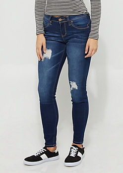 Better Butt Distressed Skinny Jeans in Regular