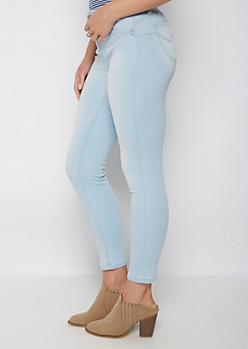 Light Blue Vintage Better Butt Jegging