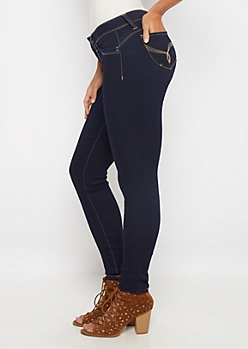 Better Butt Dark Blue Jegging