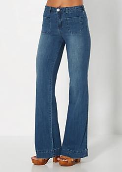 Retro Wide Leg Jean