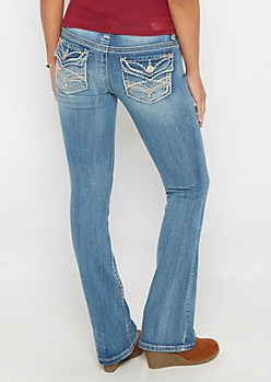 Vintage Ripped Boot Jean