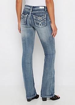 Destroyed Vintage Boot Jean