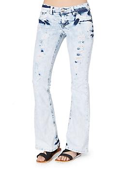 Extreme Wash Destroyed Flare Jean