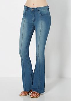 High Waisted Flare Jean