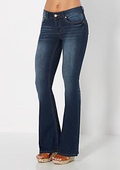 Vintage Baked Flare Jean