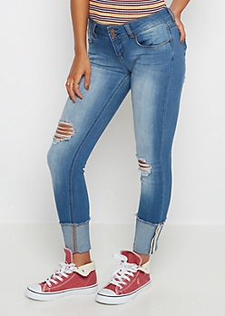 Freedom Flex Vintage Destroyed Jegging
