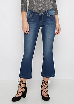 Vintage Flex Cropped Flare Jean
